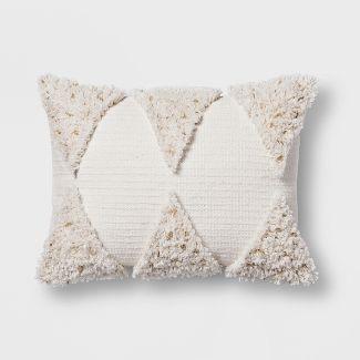 Cream Fringe Lumbar Pillow - Opalhouse™