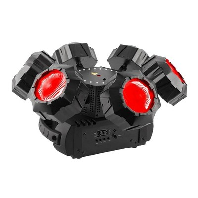 Chauvet DJ Helicopter Q6 Rotating Multi RGBW Beam & Laser Stage Lighting Effect