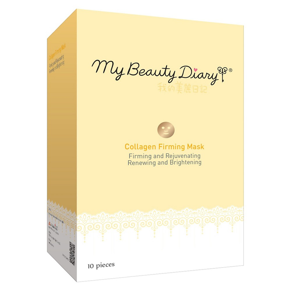 Image of My Beauty Diary Collagen Firming Face Mask - 10ct