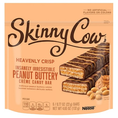 Skinny Cow Peanut Butter Crème Candy Bar - 4.65oz - image 1 of 1