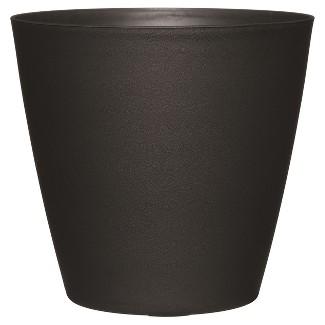 "18"" Tapered Planter - Black - Room Essentials™"