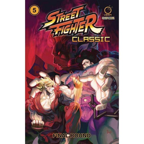 Street Fighter Classic Volume 5: Final Round - by  Ken Siu-Chong (Paperback) - image 1 of 1