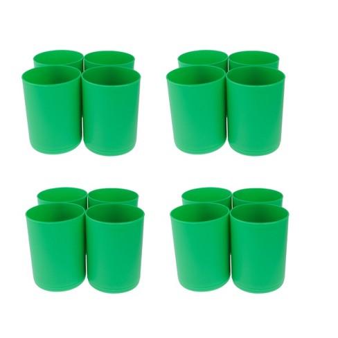 16ct Storage Cups Green - Bullseye's Playground™ - image 1 of 1