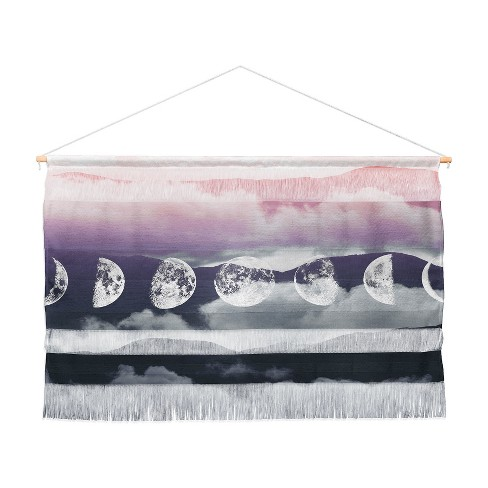 Emanuela Carratoni Pastel Moontime Wall Hanging Landscape Tapestries Purple - Deny Designs - image 1 of 3