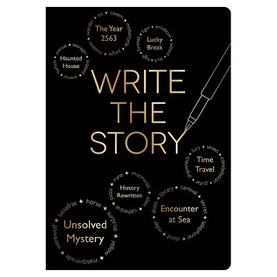 """Guided Journal 8.5""""x 6"""" Write The Story Journal - Piccadilly"""
