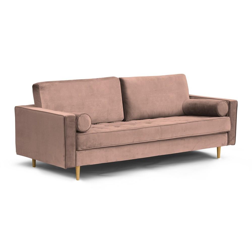 Bloomfield Mid-Century Modern Sofa Blush - Aeon