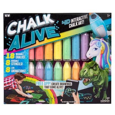 4D Interactive Chalk Alive Art Kit - Horizon Group