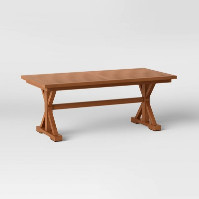 Morie Wood Patio Coffee Table - Threshold™