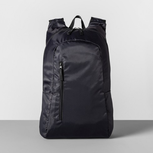 Packable Backpack Gray - Made By Design™ - image 1 of 4