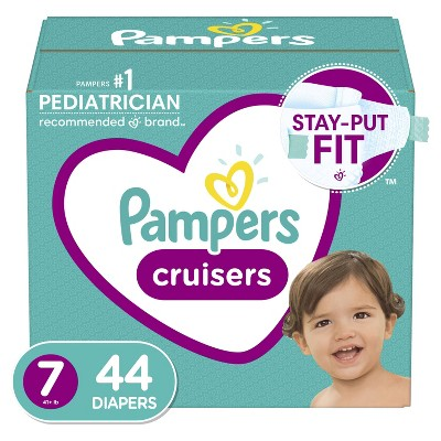 Pampers Cruisers Diapers - (Select Size and Count)