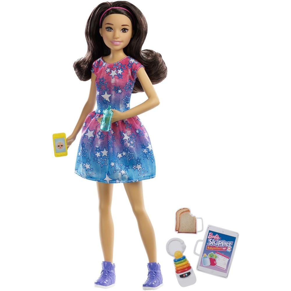 Barbie Skipper Babysitters Inc. Brunette Doll Playset