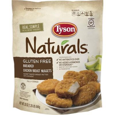 Tyson Gluten Free Chicken Nuggets - Frozen - 18oz