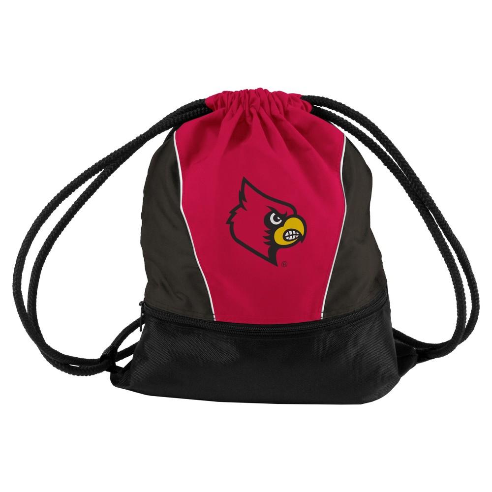 NCAA Louisville Cardinals Logo Brands Sprint Drawstring Bag