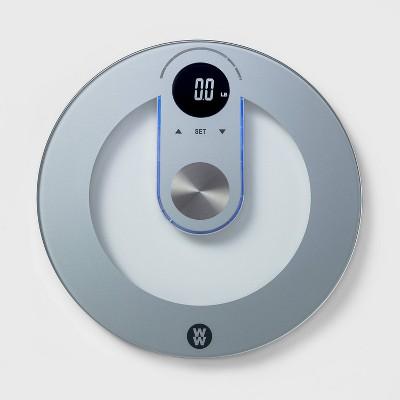 Round Glass Scale - Weight Watchers