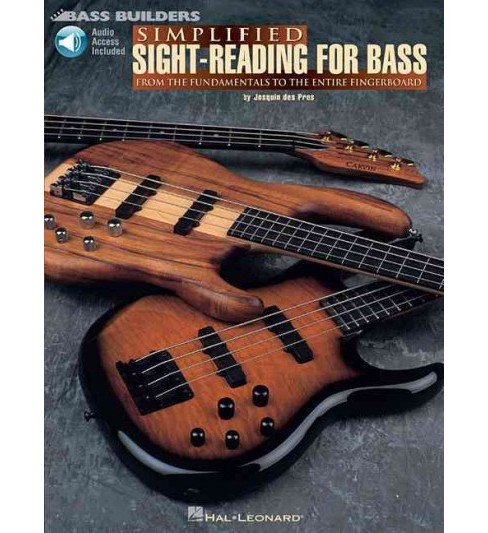 Simplified Sight-reading for Bass -  by Josquin Des Pres (Paperback) - image 1 of 1
