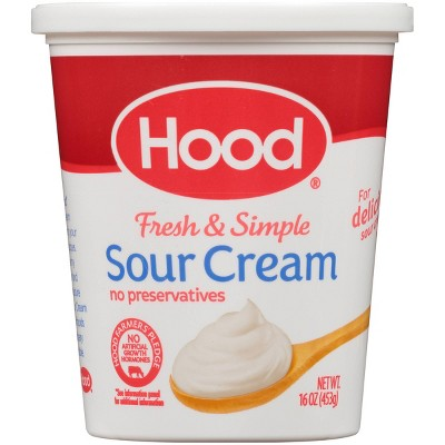 Hood Sour Cream - 16oz