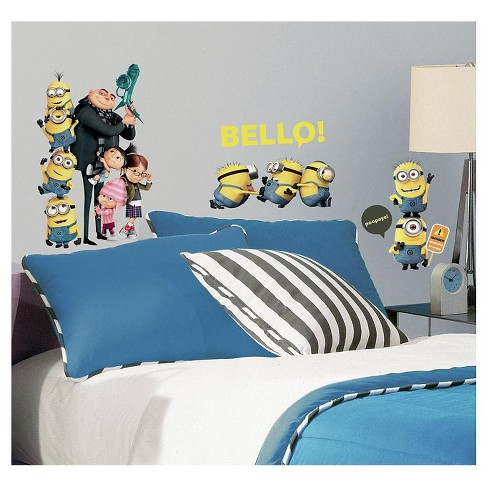 RoomMates Minions Wall Decal - image 1 of 1