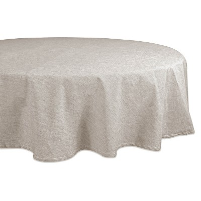 70 R French Chambray Tablecloth Natural - Design Imports
