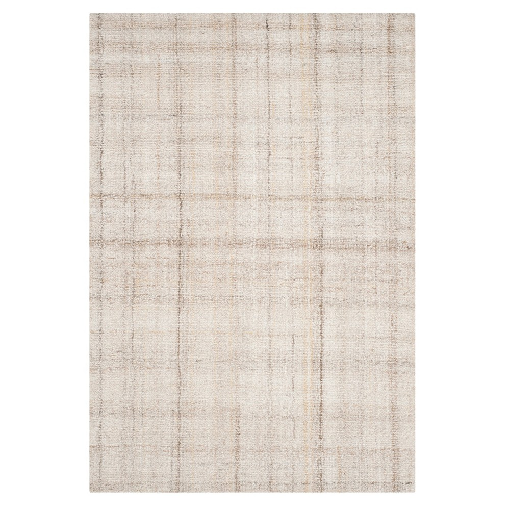 Silver Solid Tufted Area Rug 6'X9' - Safavieh, Ivory/Beige