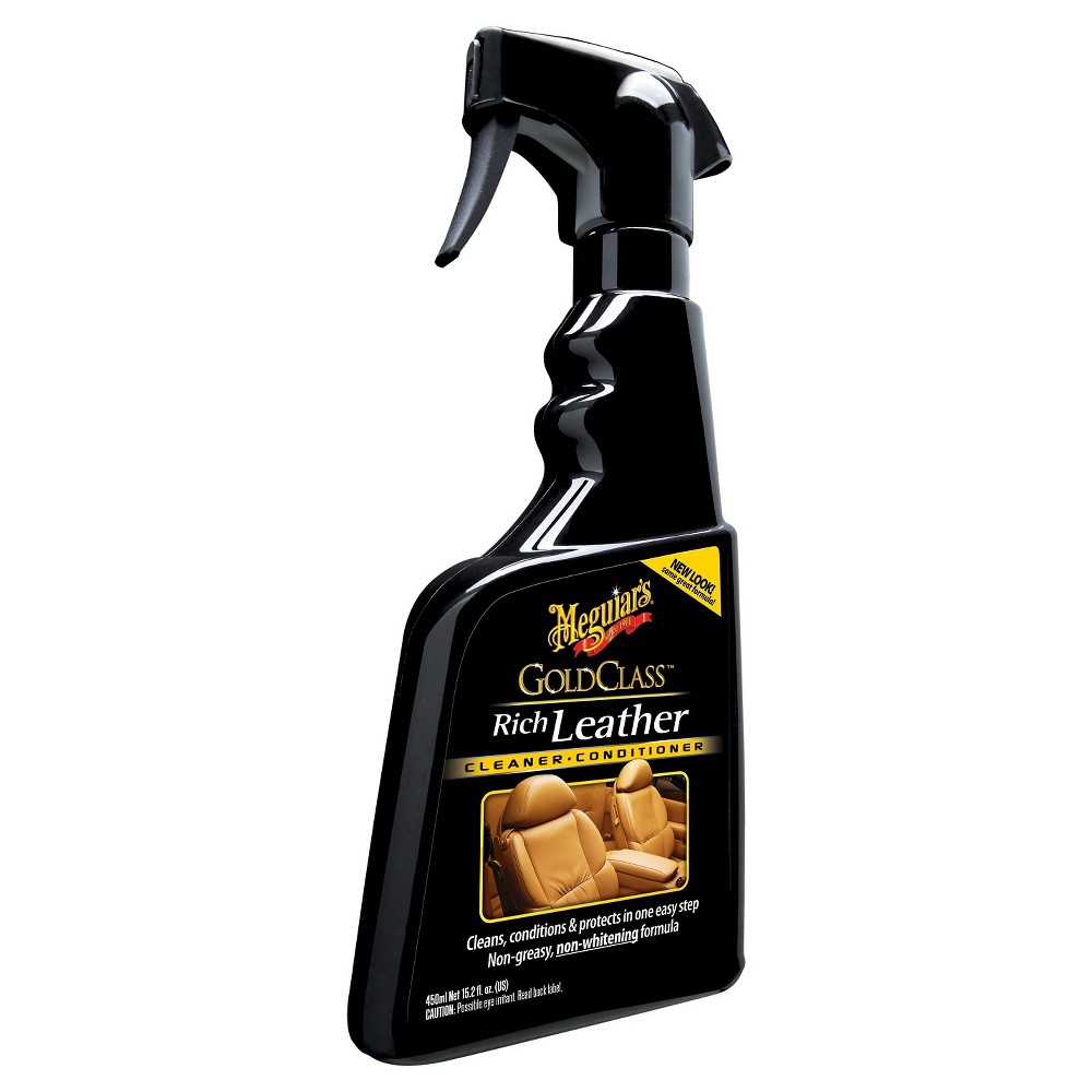 Meguiars 15 2oz Gold Class Rich Leather Cleaning And Conditioning Spray