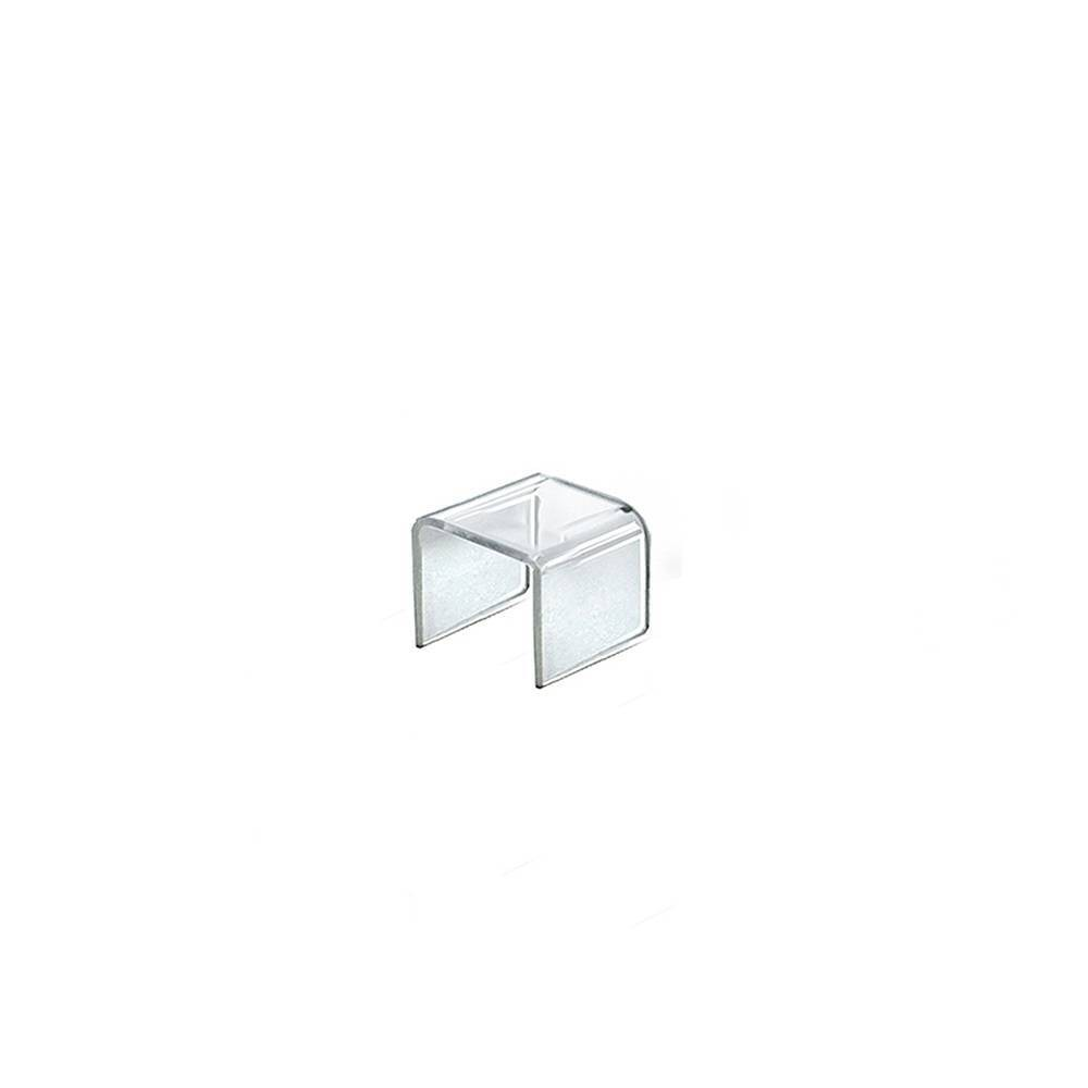 Azar Displays 2 4pk Acrylic Riser Display Square