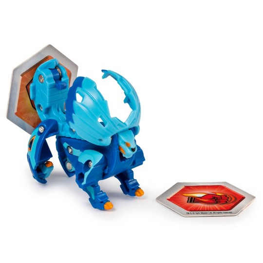 "Bakugan Ultra Hydorous with Transforming Baku-Gear Armored Alliance Collectible Action Figure 3"" image number null"
