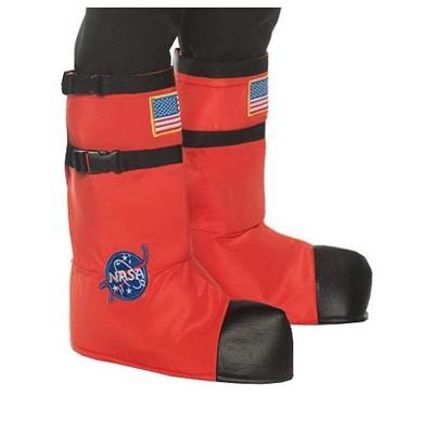 Underwraps Orange Astronaut Boot Tops Child Costume Accessory