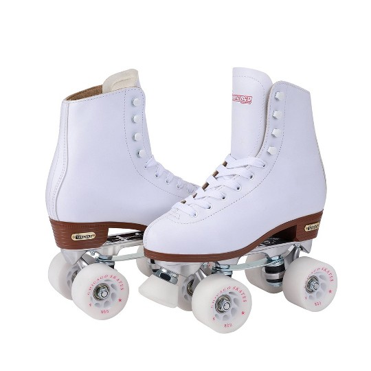 Women's Chicago Deluxe Leather Rink Skates - 7 image number null
