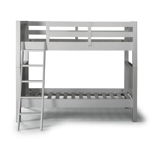 Venice Twin over Twin Bunk Bed Silver/Gray - Home Styles - image 1 of 3
