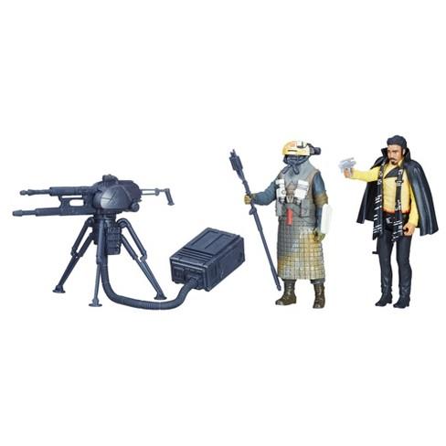 Star Wars Force Link 2.0 Lando Calrissian & Kessel Guard 2pk - image 1 of 7