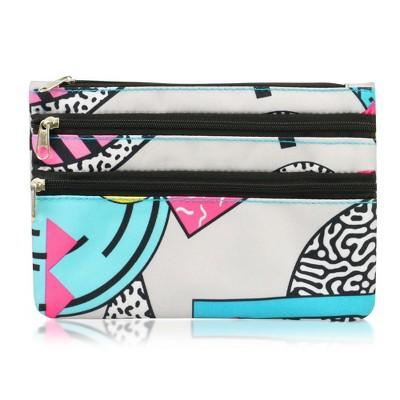 Zodaca Women Fashion Portable Zip Closure Coin Purse Wallet Pouch Bag Card Holder