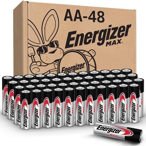 Energizer 48pk MAX Alkaline AA Batteries - image 1 of 4