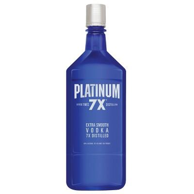 Platinum 7X Vodka - 1.75L Bottle