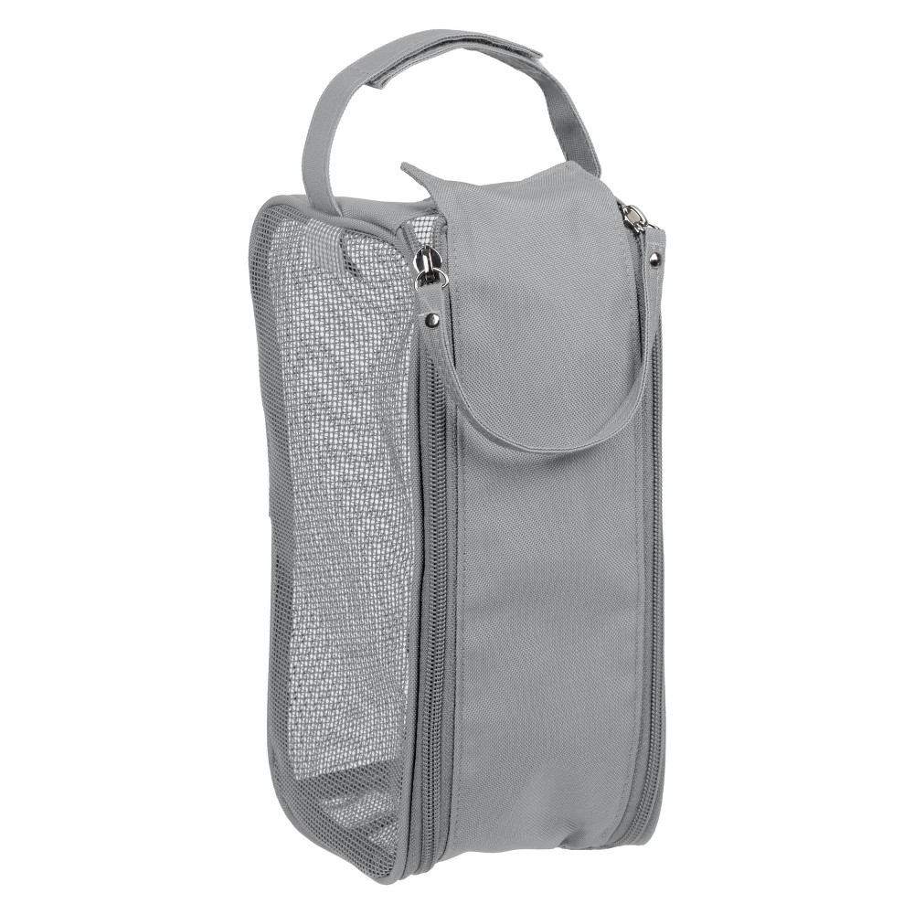 Image of Hanging Shower Dopp Kit Gray - Bath Bliss