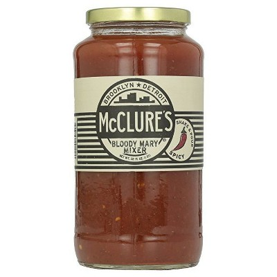 McClure's Spicy Bloody Mary Mix - 32 fl oz Bottle