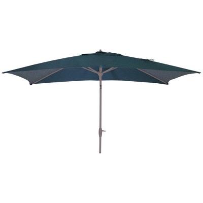 10' Rectangular Patio Umbrella DuraSeason Fabric™ Teal - Project 62™
