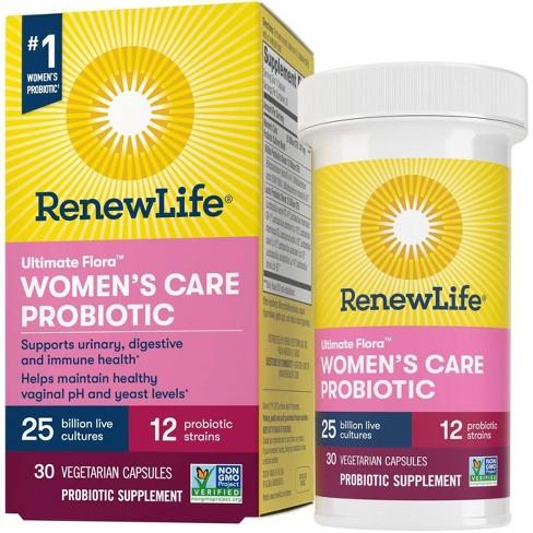 Renew Life Ultimate Flora Probiotic Womens Care Vegetarian Capsules - image 1 of 4