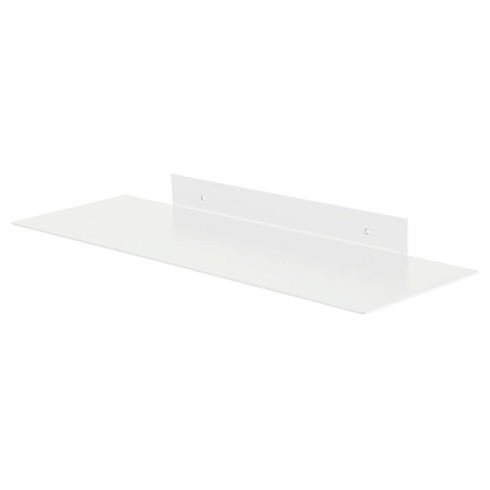 Image of Dolle Katana Floating Metal Shelf - White