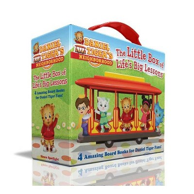 The Little Box of Life's Big Lessons - (Daniel Tiger's Neighborhood) by  Various (Board Book)