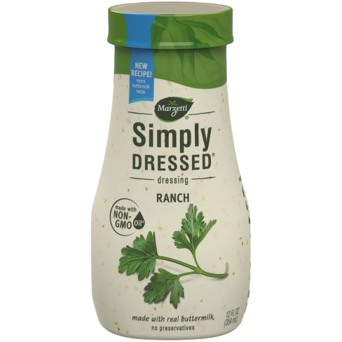 Marzetti Simply Dressed All Natural Ranch Dressing - 12oz - image 1 of 3