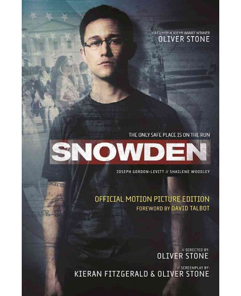 Snowden : The Only Safe Place is on the Run (Hardcover) (Kieran Fitzgerald) - image 1 of 1