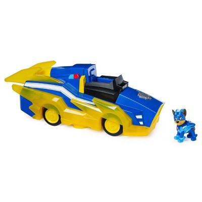 PAW Patrol Mighty Pups Charged Up Transforming Deluxe Vehicle - Chase