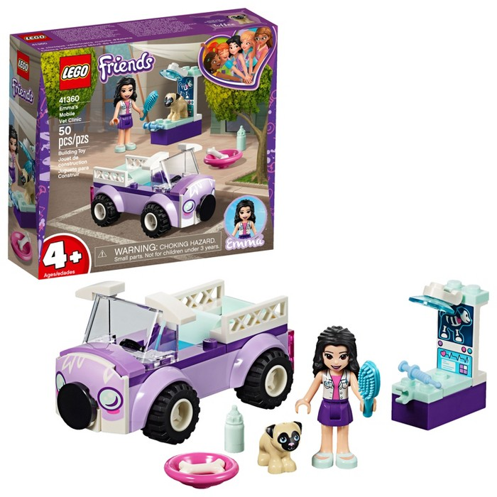 LEGO Friends Emma's Mobile Vet Clinic 41360 - image 1 of 6