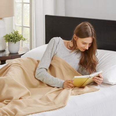 Bed Blanket Liquid Cotton King Linen
