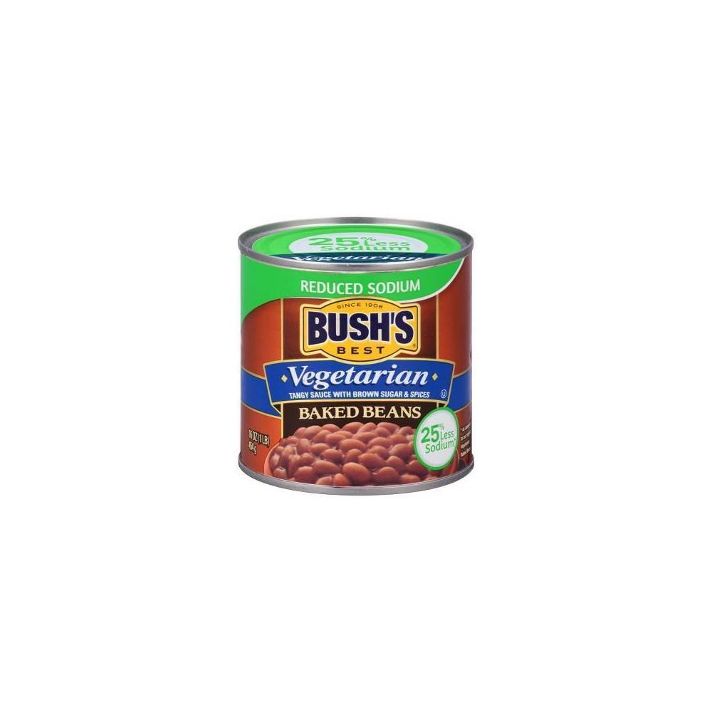 Bush's Reduced Sodium Vegetarian Baked Beans - 16oz