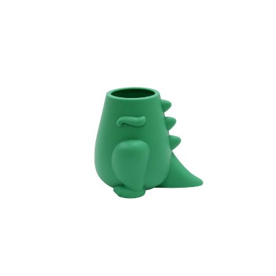 Kids' Toothbrush Holder Dino Green - Pillowfort™