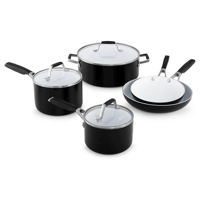 Select by Calphalon 8pc Ceramic Non-Stick Cookware Set