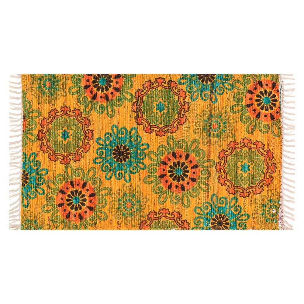 Loloi Aria Accent Rug - Yellow (1'8X3')