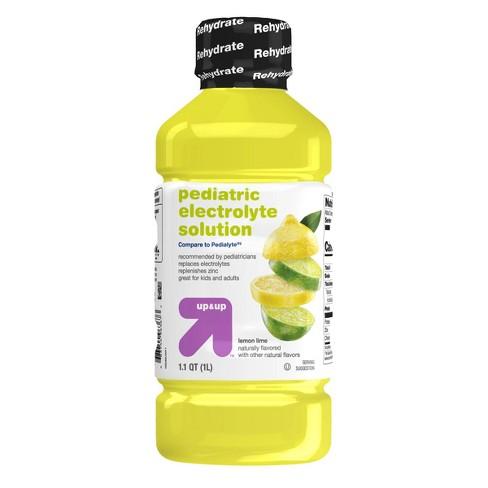 Pediatric Oral Electrolyte Solution Lemon Lime - 1L - Up&Up™ - image 1 of 4