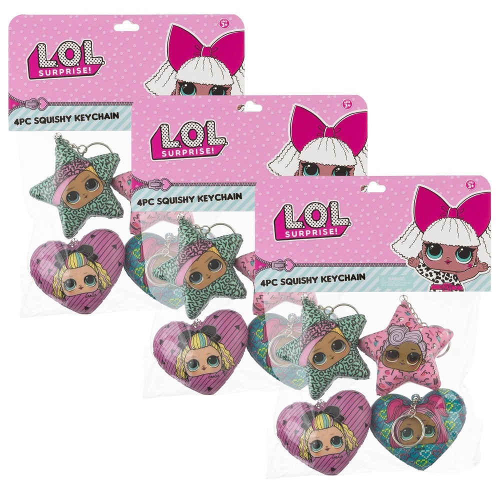 Image of L.O.L. Surprise! 12pc Squishie Keychains